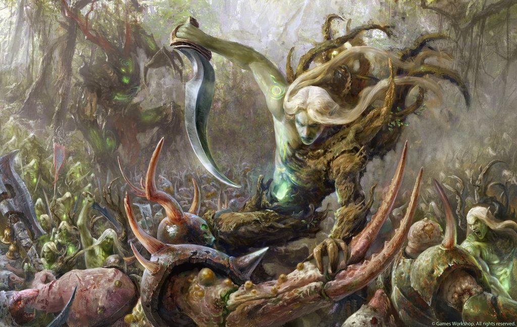 Sylvaneth vs Rotbringers by Manzanedo on DeviantArt