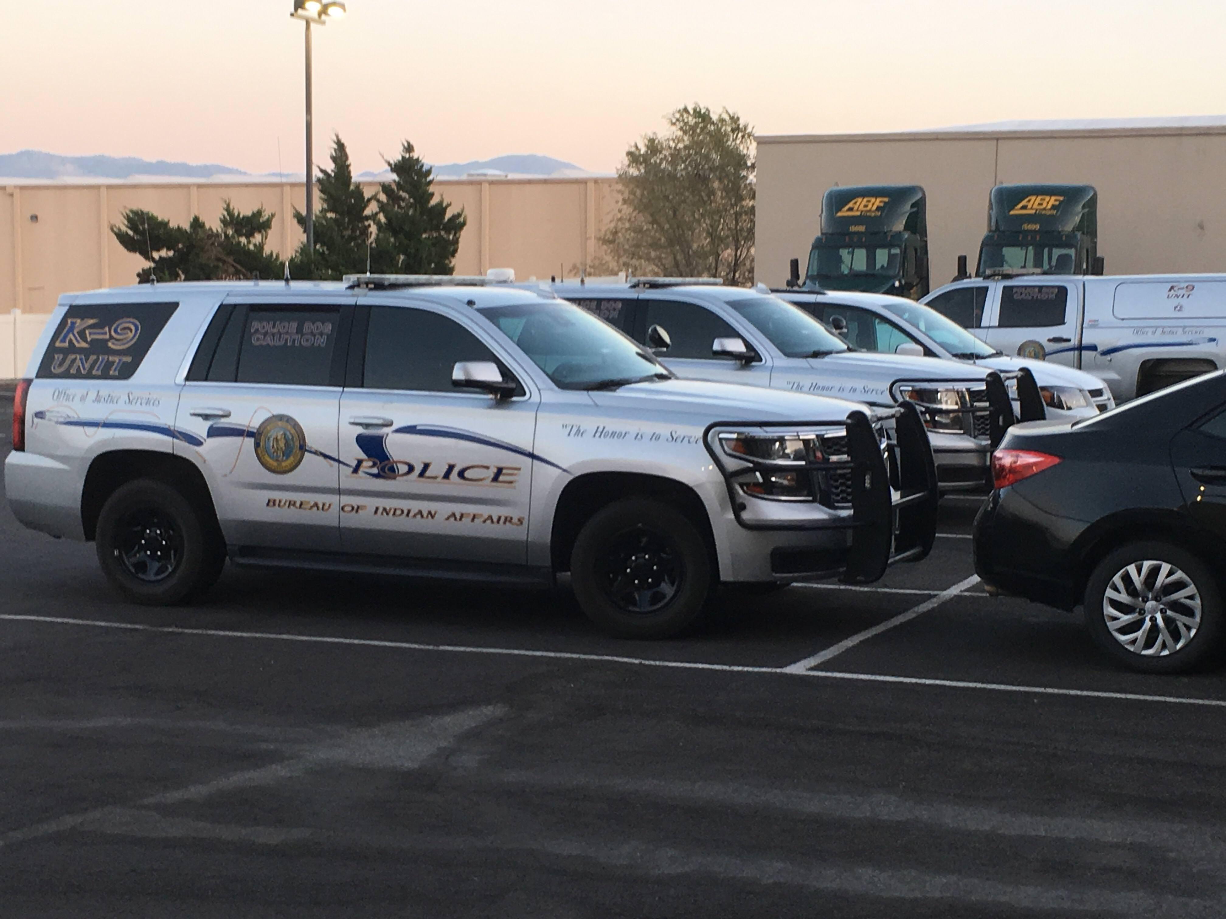 Bureau Of Indian Affairs Police Chevy Tahoe Nevada Police Cars Police Postal Police