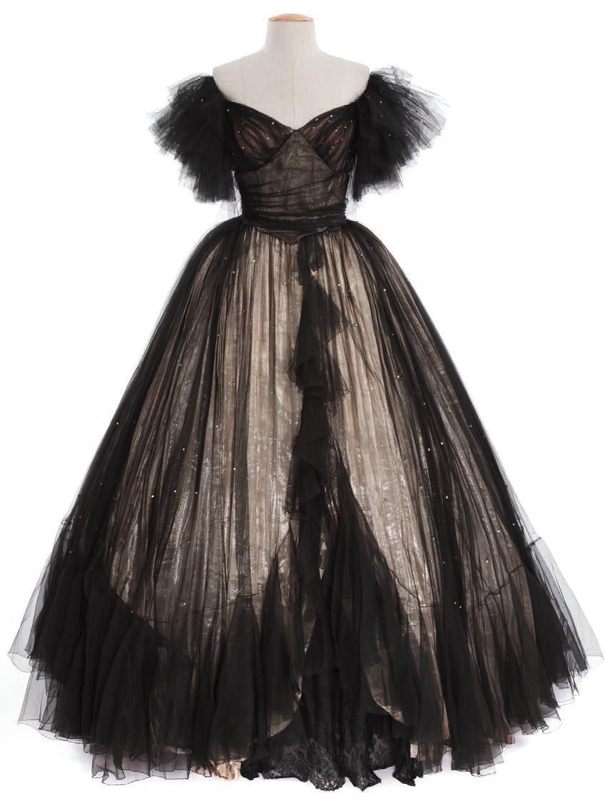 Costume designed by Rene Hubert for Marlene Deitrich in Lili (1941).