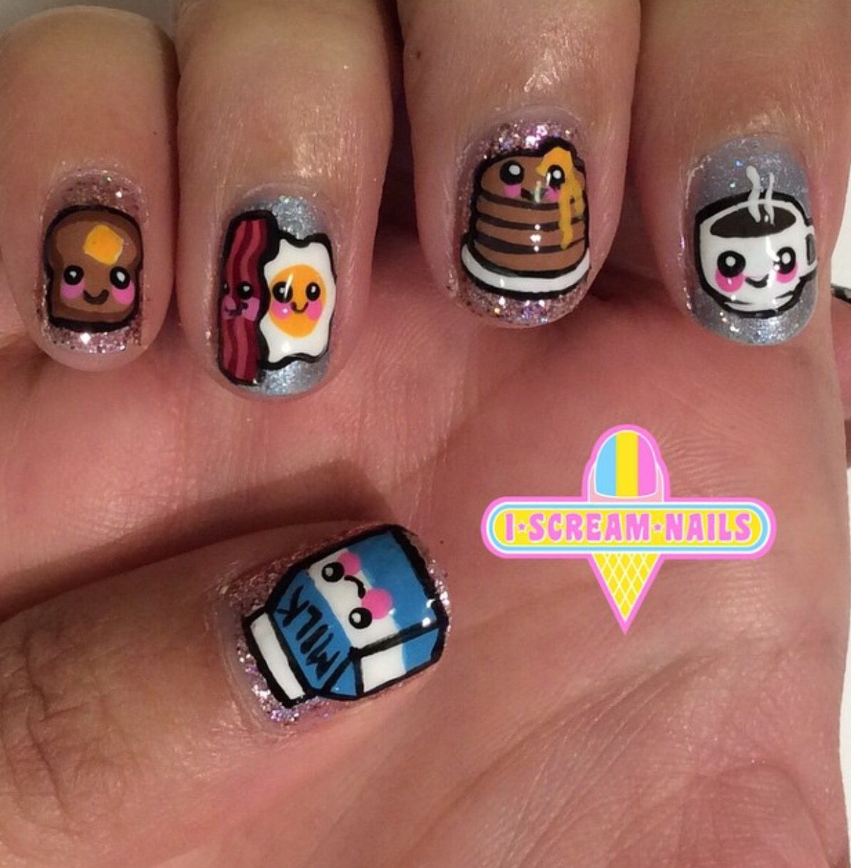 I Scream Nails Nails Pinterest Nail Nail