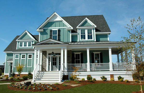 Coastal Victorian Cottage House Plan