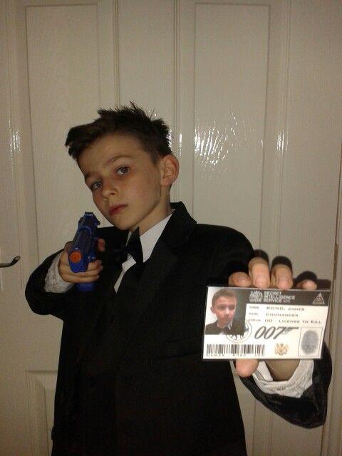 James Bond Dress Up World Book Day