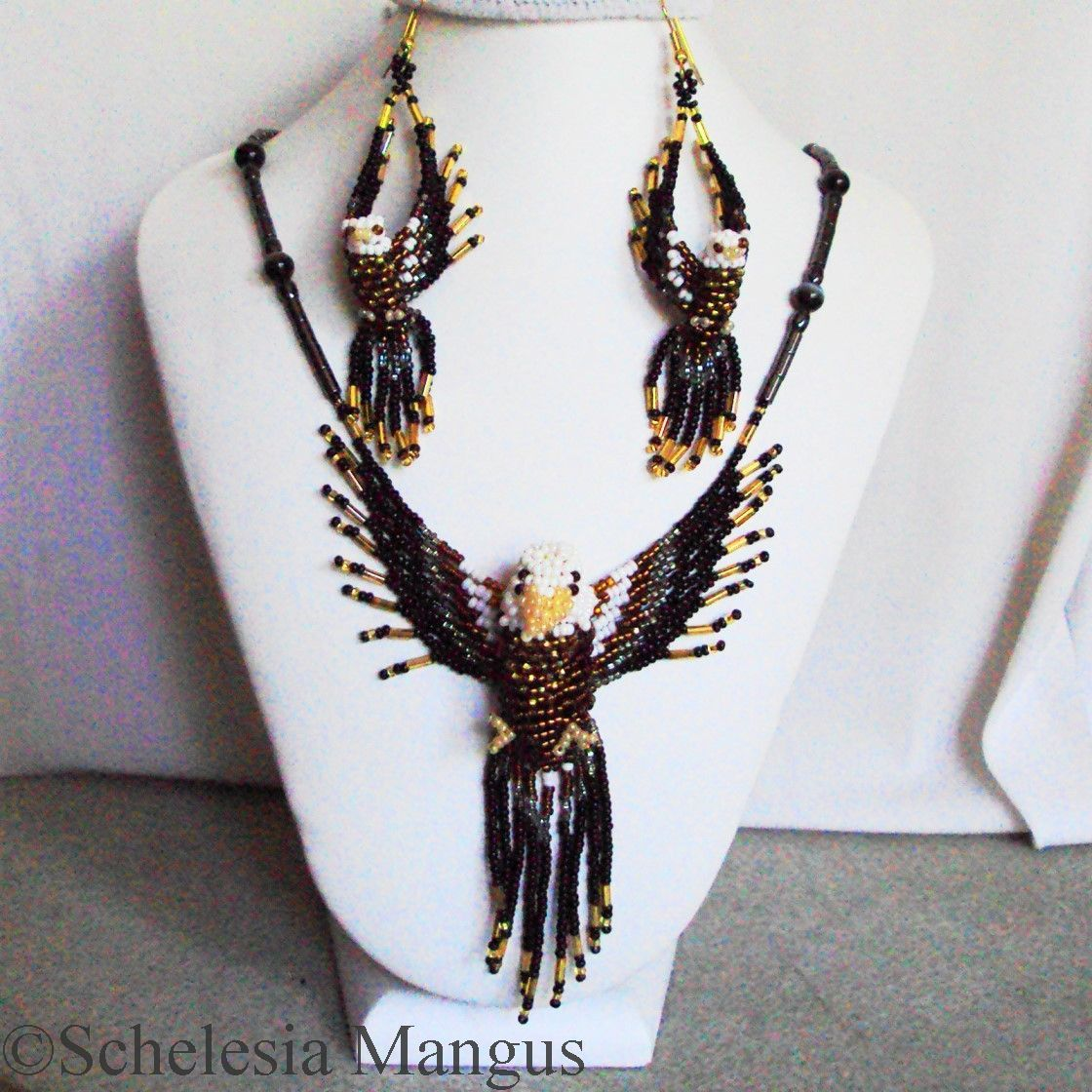 I just listed 3D Bald Eagle Jewelry Set 1500-Set on The CraftStar @TheCraftStar #uniquegifts