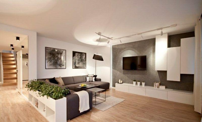 Tv Wand Selber Bauen Einfache Anleitung Fur Unerfahrene Handwerker Tv Wand Selber Bauen Wohnung Design Tv Wand Wohnzimmer