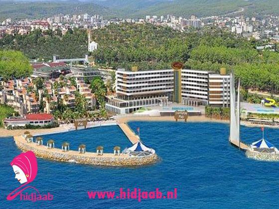 Muslim Friendly Hotel Adin Beach Hotel Halal All Inclusive Glijbanen Resorts Hotel