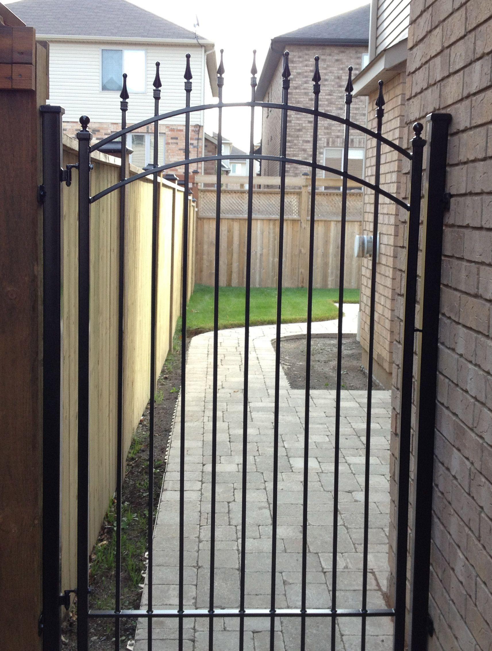 Iron Gates And Fences Designs Iron Gates Fence Design Wrought