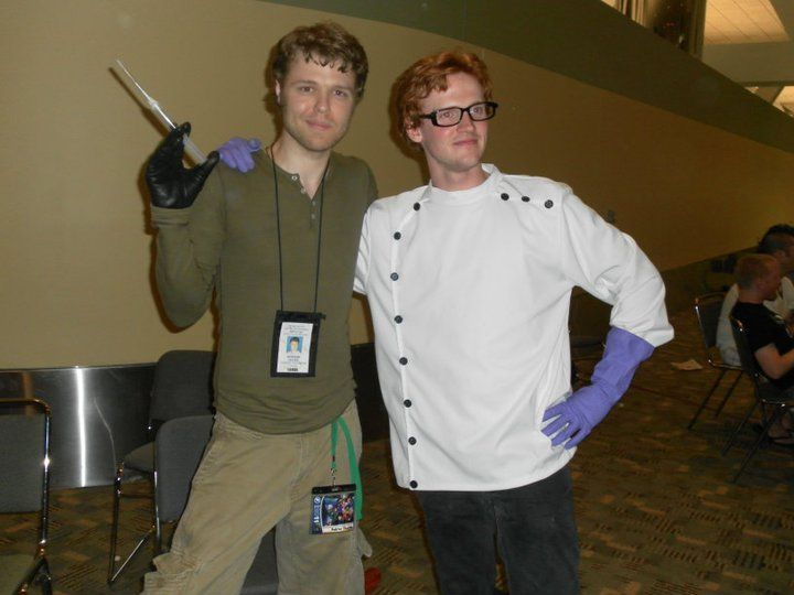 Dexter and Dexter from Dexter's Laboratory and Dexter #showtime #cosplay