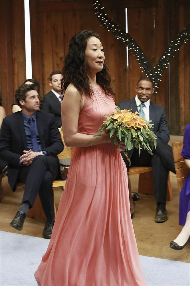 Even The Bridesmaids Look Gorgeous In These Greys Anatomy Wedding Photos