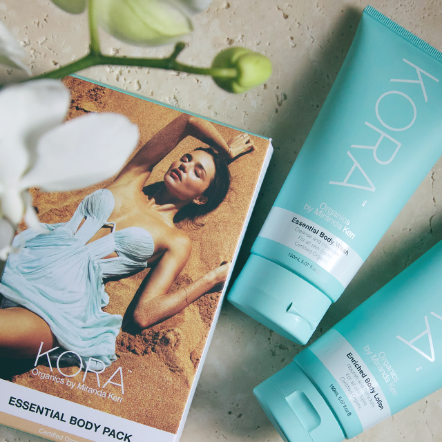 Treat yourself by gently cleansing with our Essential Body Wash & nourishing your skin with Enriched Body Lotion. Restore your natural glow and optimum hydration levels with Noni, Cocoa Butter & Macadamia. Discover more here http://www.koraorganics.com/us/essential-body-pack.html xxx