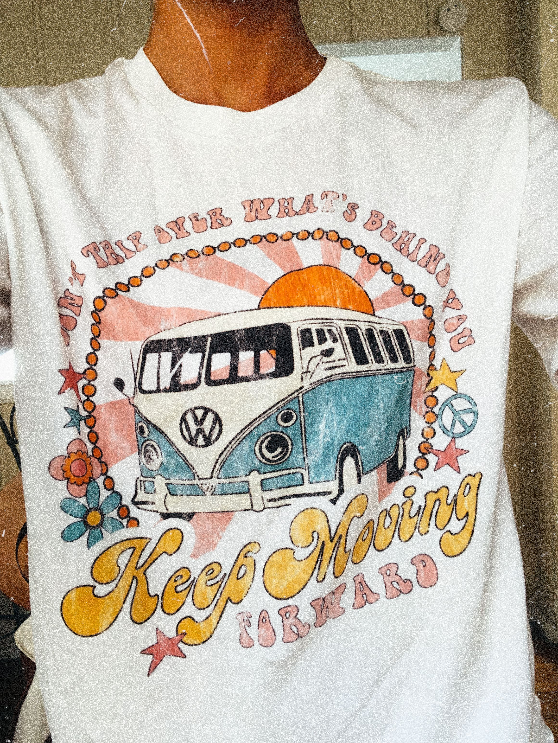 Keep moving tee our newest collection of graphic tees