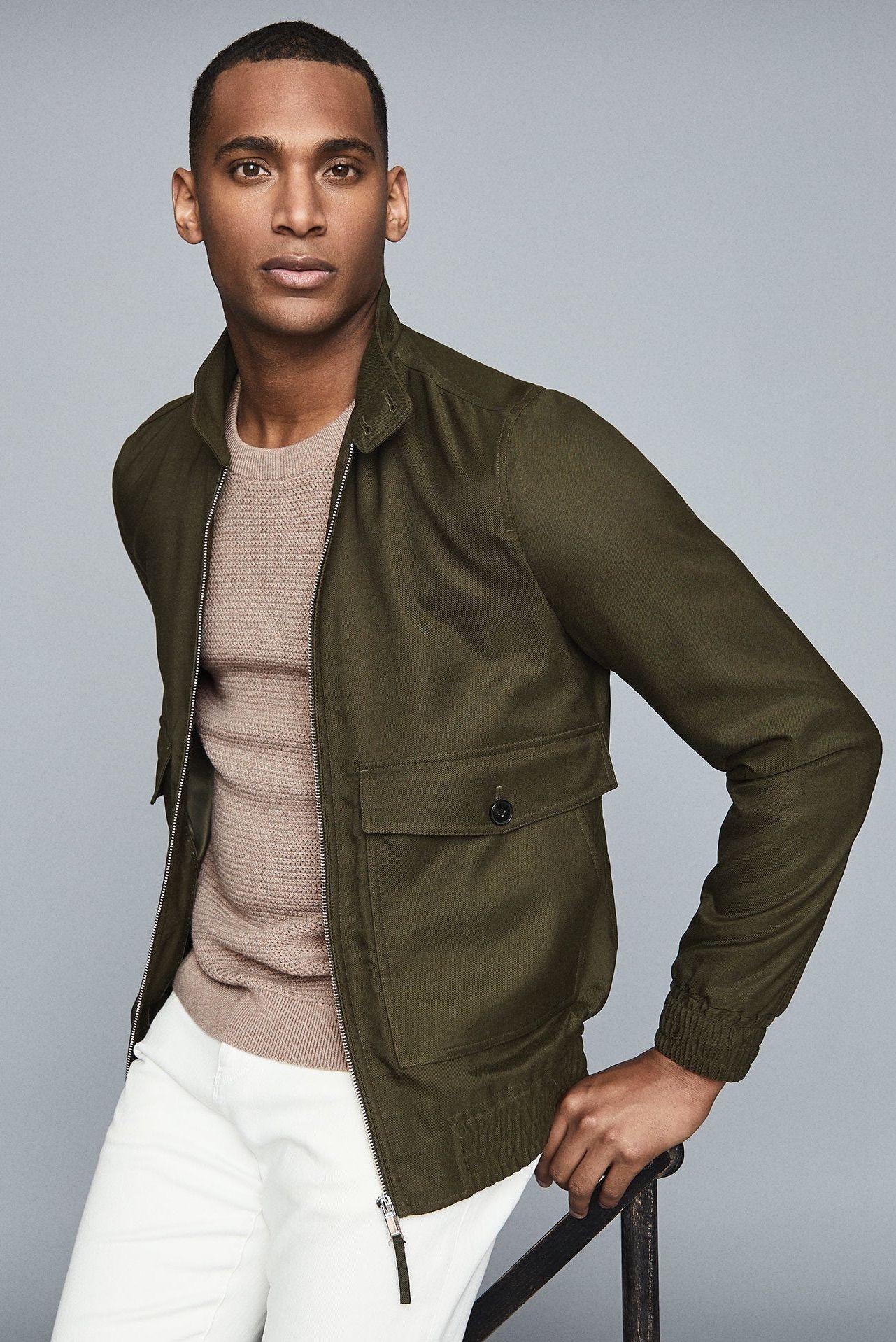 Kura Harrington Jacket Mens Clothing Styles Dapper Mens Fashion Harrington Jacket [ 1918 x 1281 Pixel ]