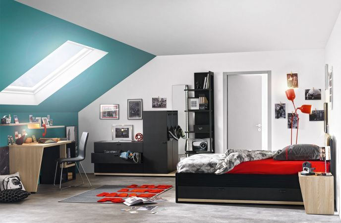 Urban New Gautier Kids Teens Bedroom Collection Made In France By Gautier All Details And Products Www Gauti Meubles Gautier Chambre Urbaine Chambre Enfant