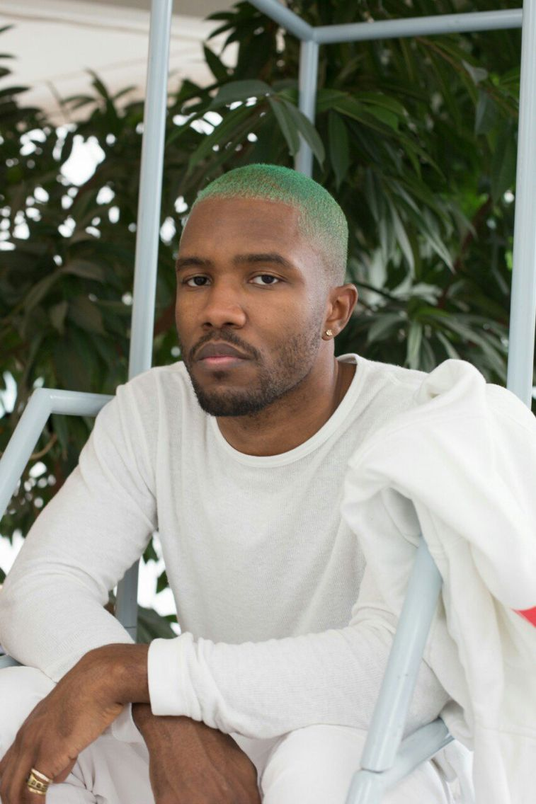 green haired frank / tumblr Frank ocean, Menn, Artister