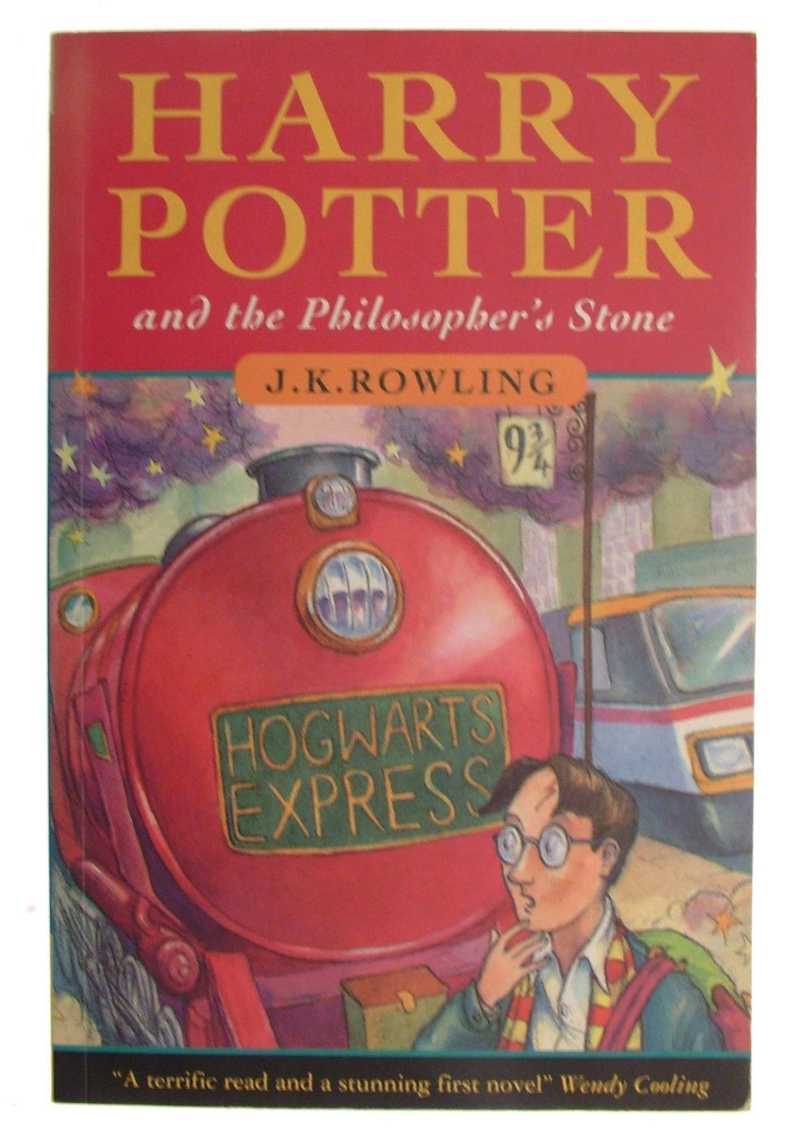 Harry Potter The Philosopher S Stone First Edition 2nd Printing