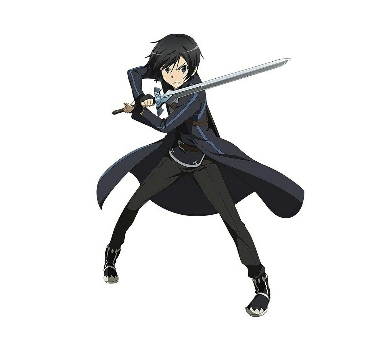 Anime Characters Use Dual Swords : Kirito sword art online pinterest