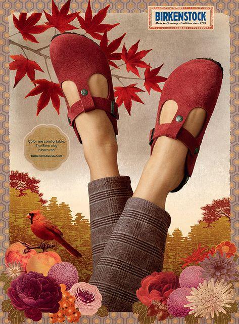 Birkenstock 2010 print, 1 of 6 | Comfortable shoes, Most