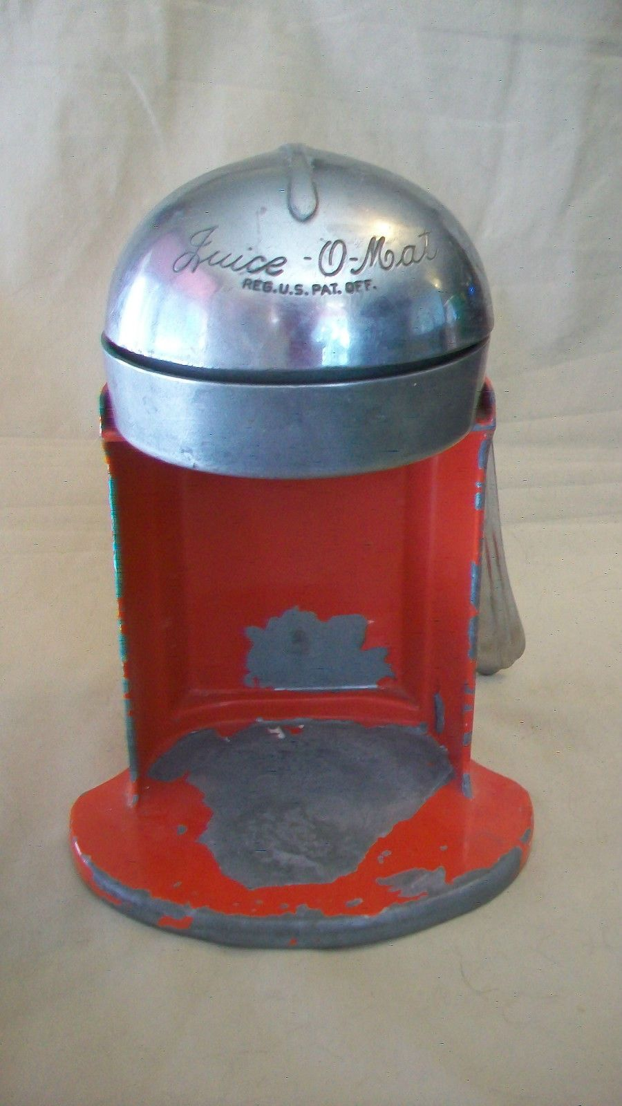 Vintage 1940 S Rival Mfg Co Juice O Matic Hand Juicer