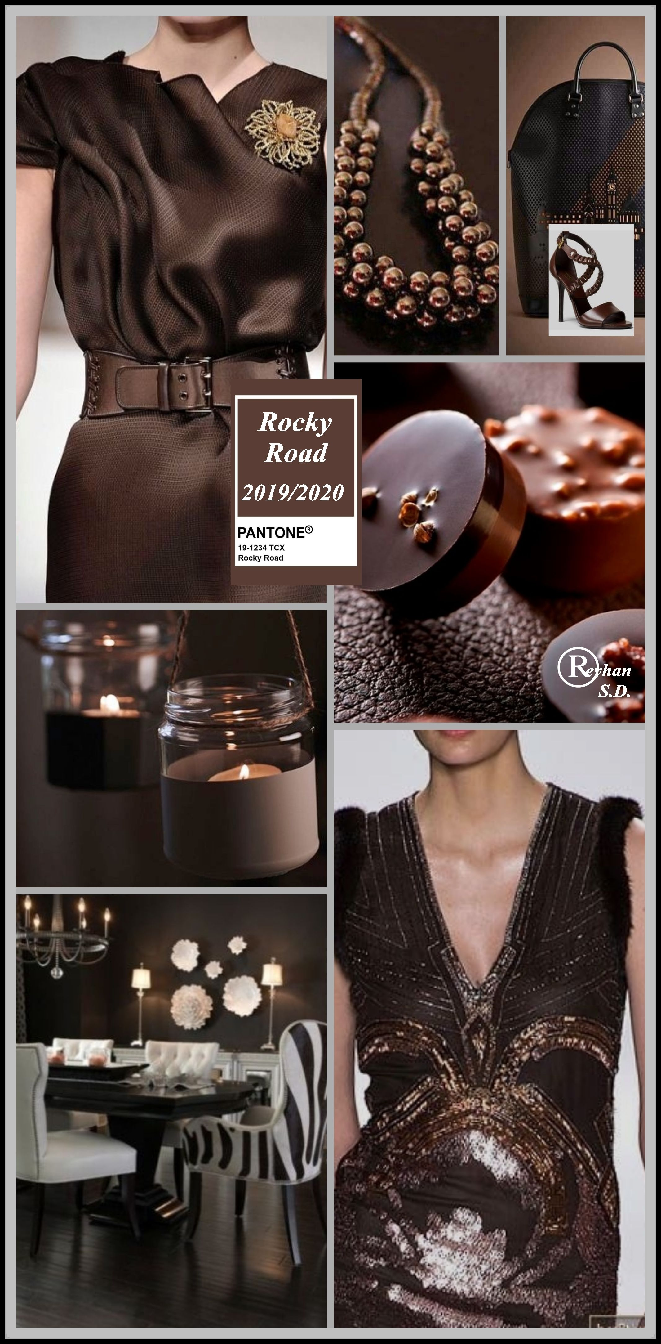 Image result for FASHION PANTONE ROCKY ROAD