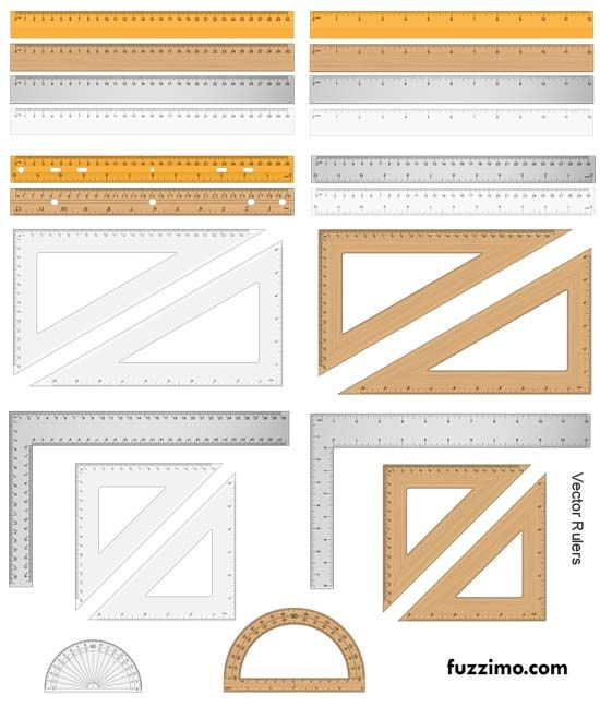 Free Vector Ruler Triangle Protractor Print Me For Free