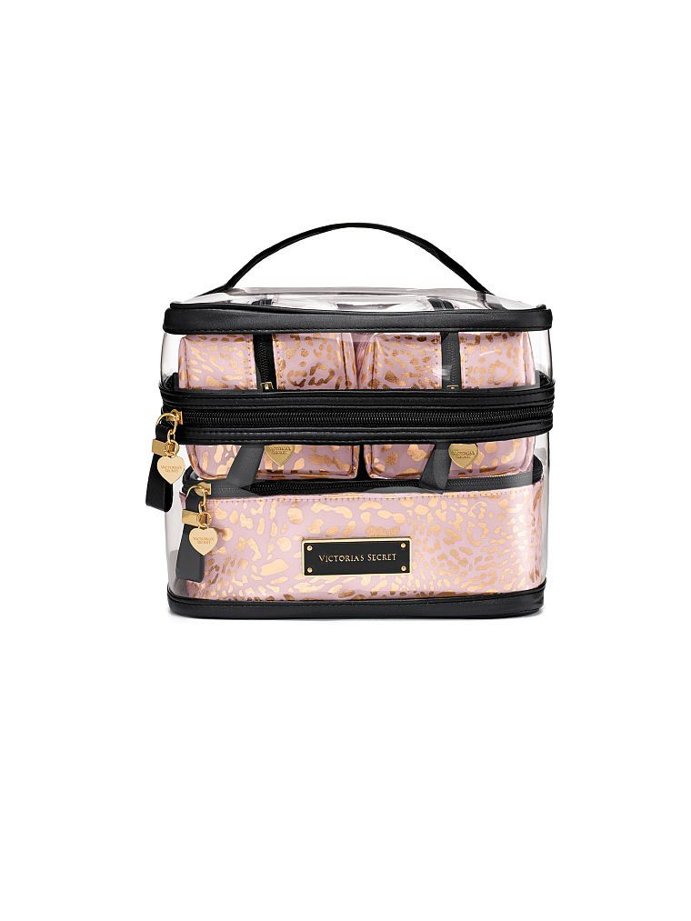 db45f67249ab Four-piece Travel Case - Victoria s Secret - Victoria s Secret  60 Travel Cosmetic  Bags