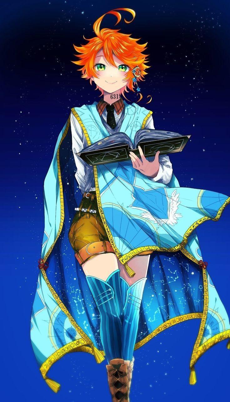Emma (Yakusoku no Neverland) em 2020 Anime, Desenhos de