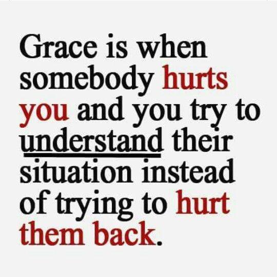 grace..sometimes it's so hard