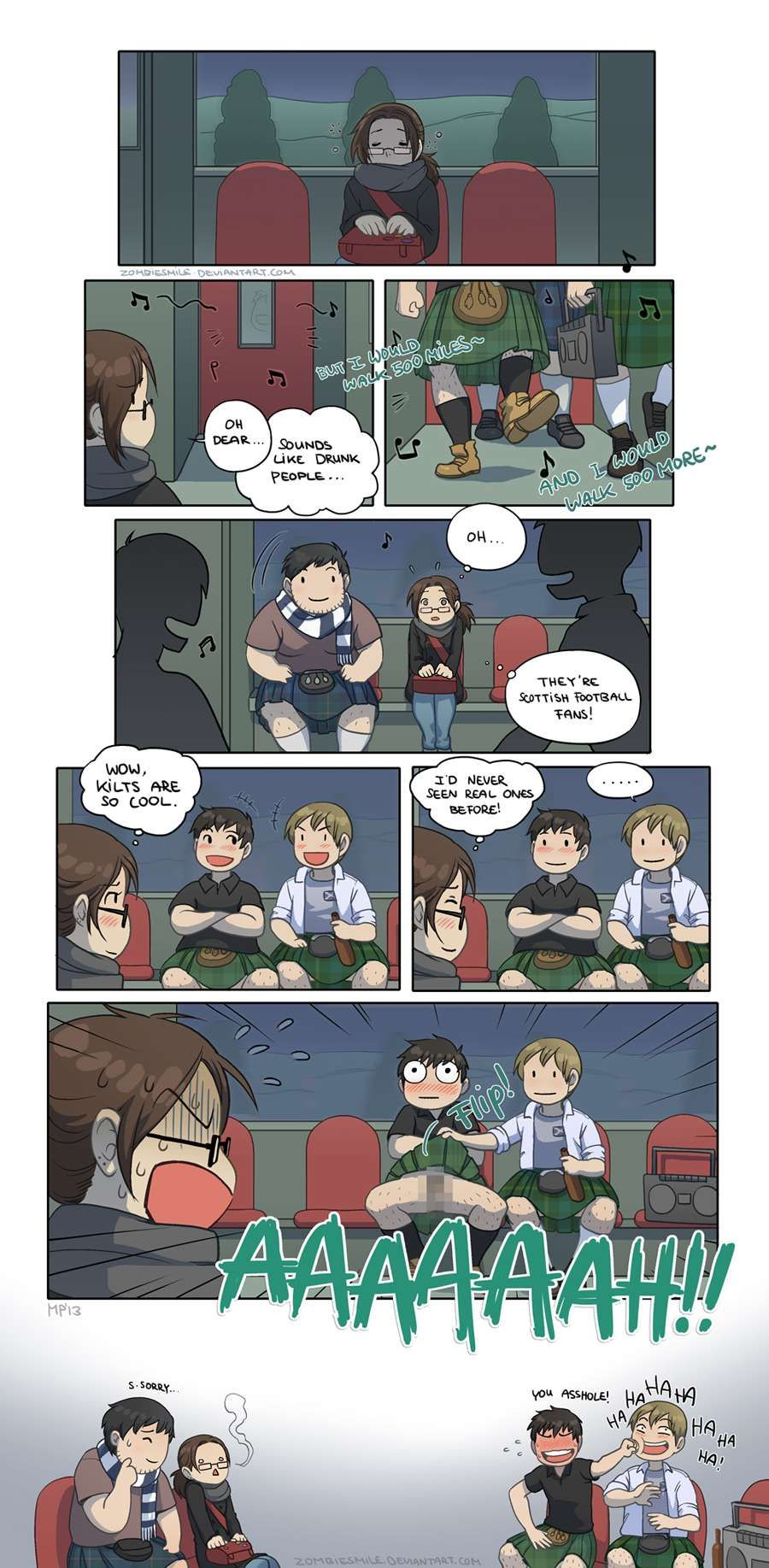 Mini Comics :: Teenage Trauma | Tapastic Comics - image 1