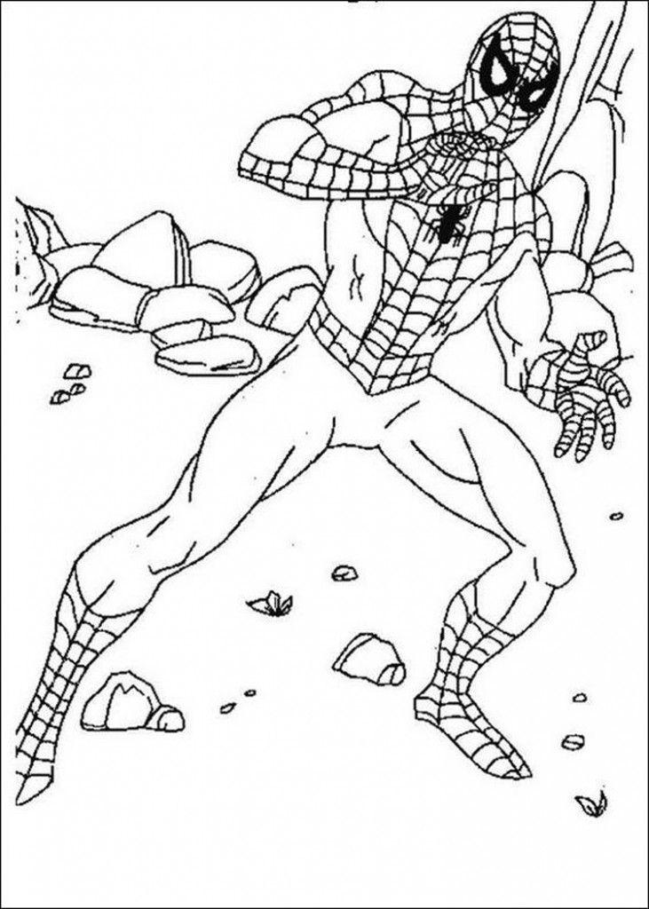 malvorlagen superhelden spiderman - malvorlagen