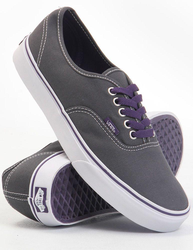 Vans Authentic Dark Gray Shoes