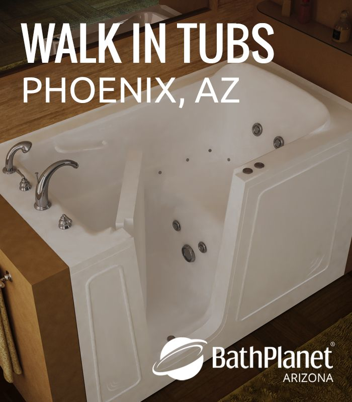 Are you in need for a walk in tub? At Bath Planet Arizona, we offer ...