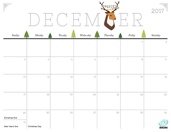Printable Calendar December 2019 With Holidays And Cute Free Printable Cute and Crafty 2019 Calendar | Free, Cute & Crafty Printable