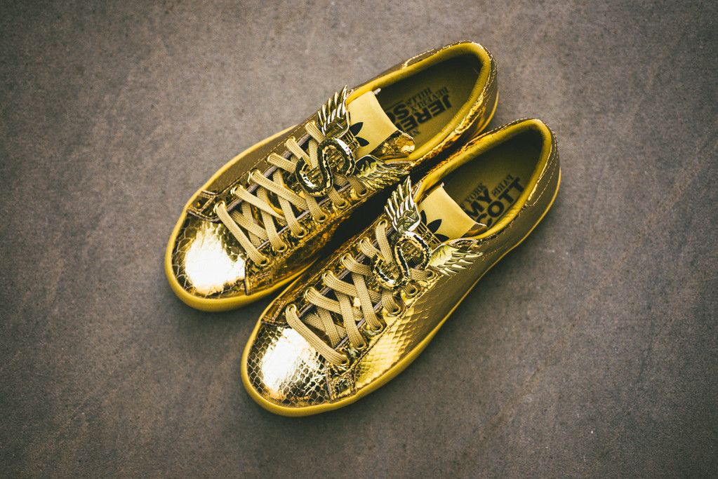 Adidas Jeremy Scott Gold