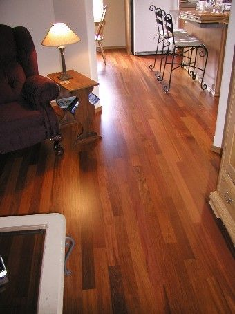 Brazilian Cherry Hardwood Flooring Jatoba Unfinished