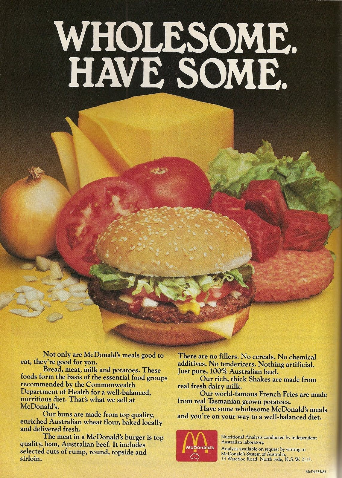 """""""Not only are McDonald's meals good to eat, but they're ..."""