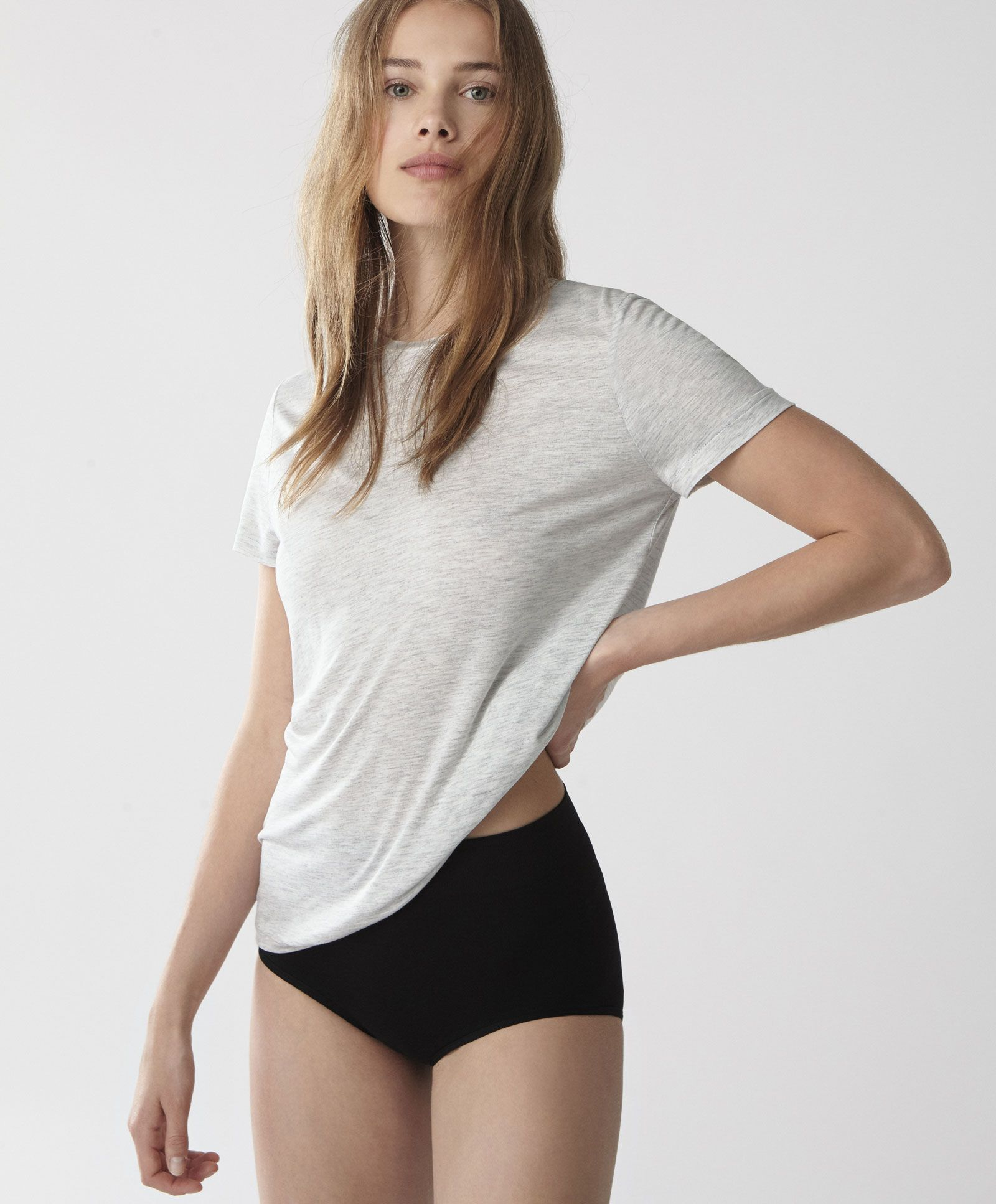 T shirt viscose Hauts Tendances printemps été 2017 en mode