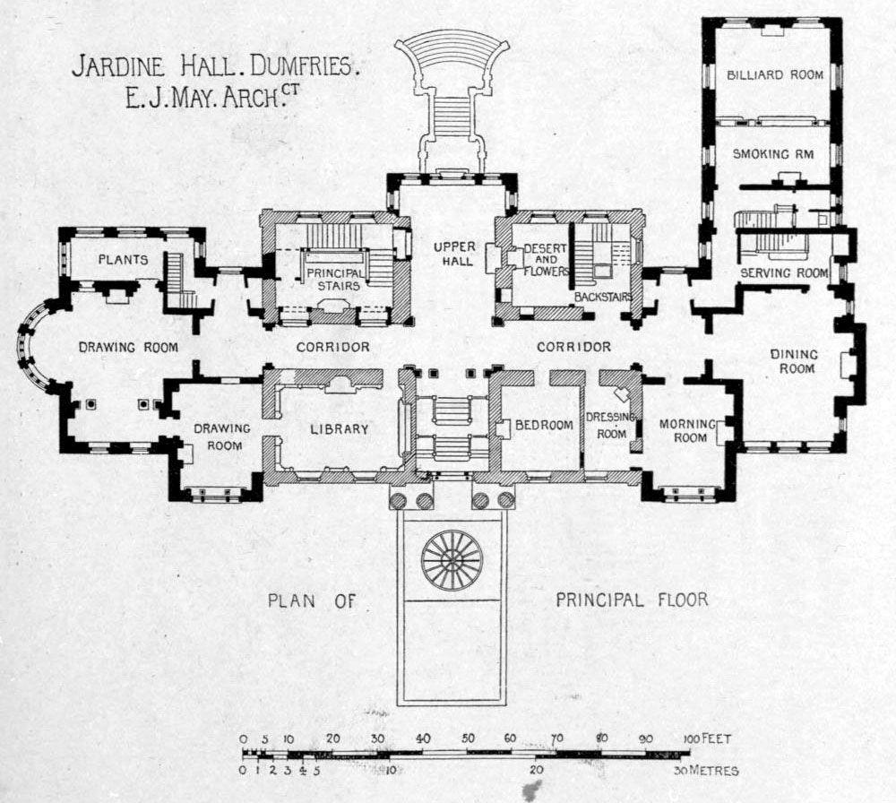plan for jardine hall dumfries floor plans castles palaces plan for jardine hall dumfries