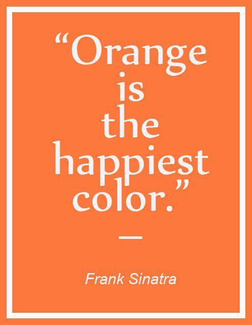 Zitate Frohliche Farben Orange Zitate Worter