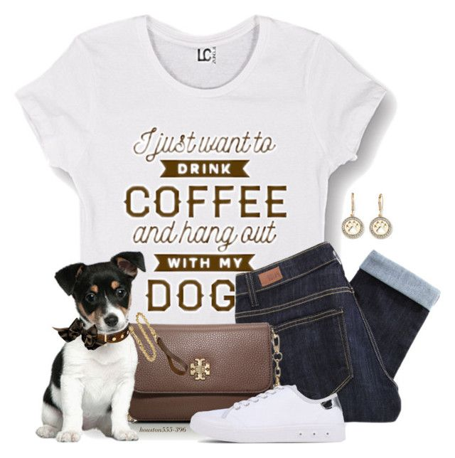 """Must Love.....Houston for better or worse!"" by houston555-396 ❤ liked on Polyvore featuring Pet Friends, Cotton Jungle, Paige Denim, Tory Burch, Frida Firenze and rag & bone"