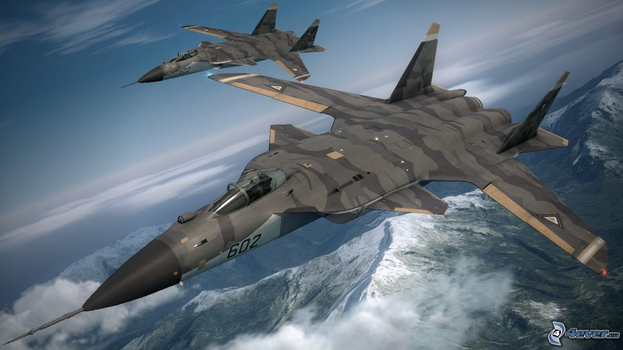 Sukhoi, Sukhoi Su 47, Fighter Jets