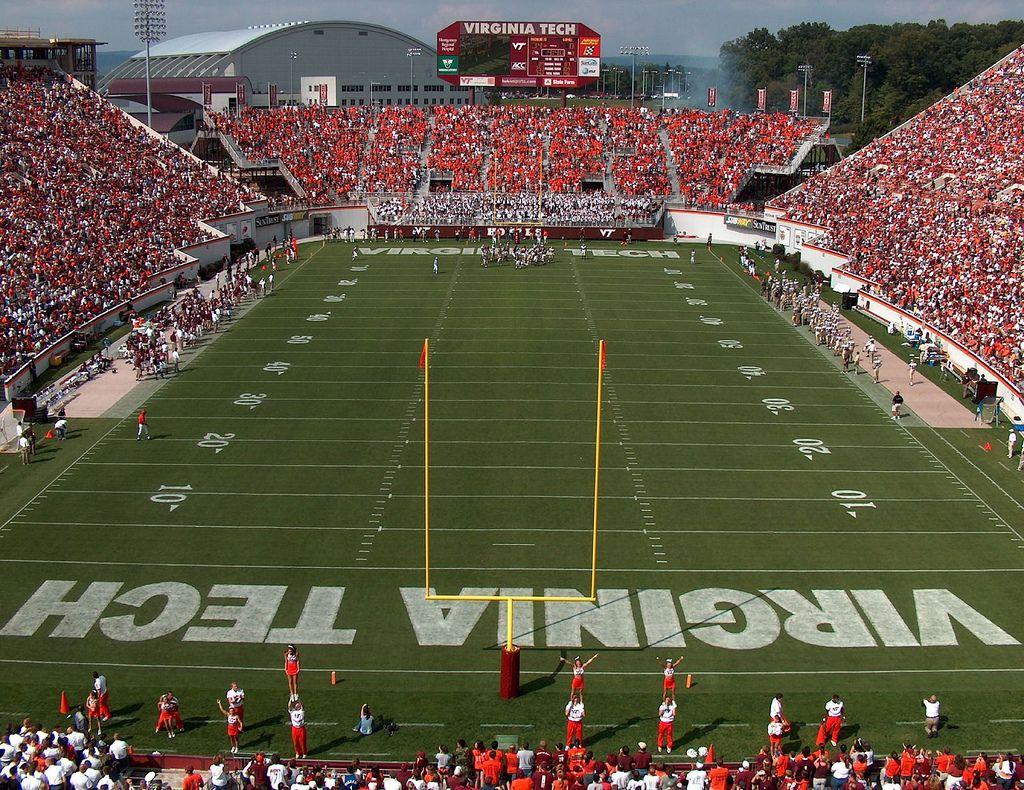 virginia tech football stadium Google Search Virginia