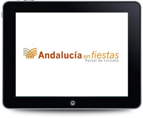 Diseño de logotipo para Andalucíaenfiestas.es