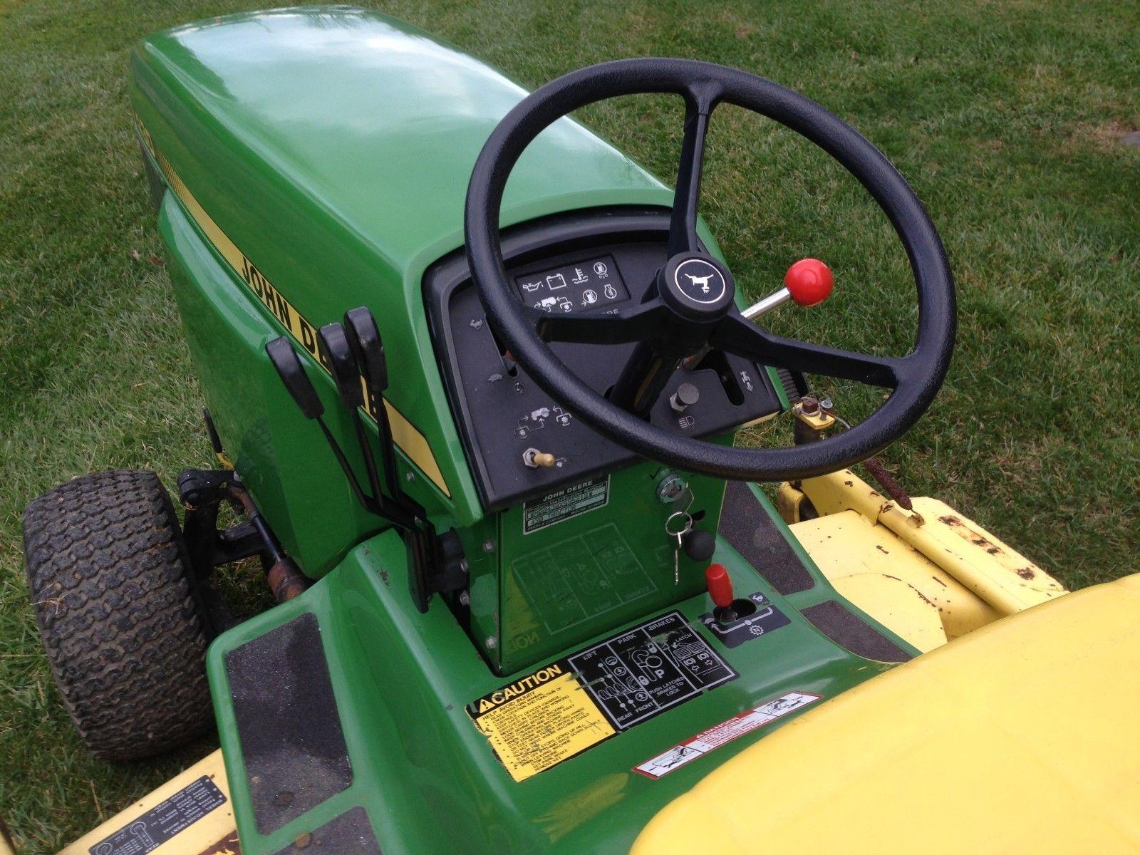 small resolution of  wiring diagram john deere 430 sel garden tractor 401 original hours