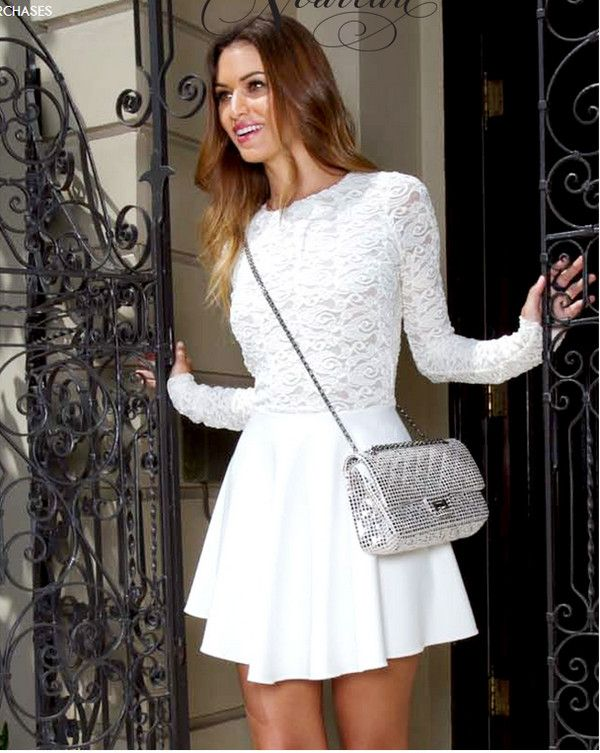 Collection Long Sleeve Summer Dresses Pictures - Reikian