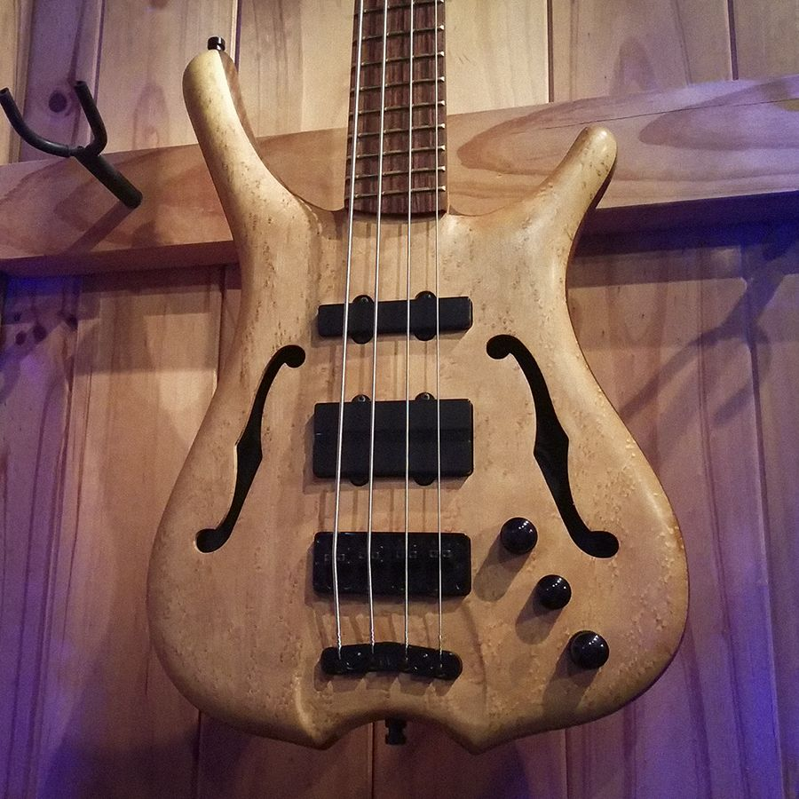 On Our New Warwick Bass Wall Is A German Made Warwick
