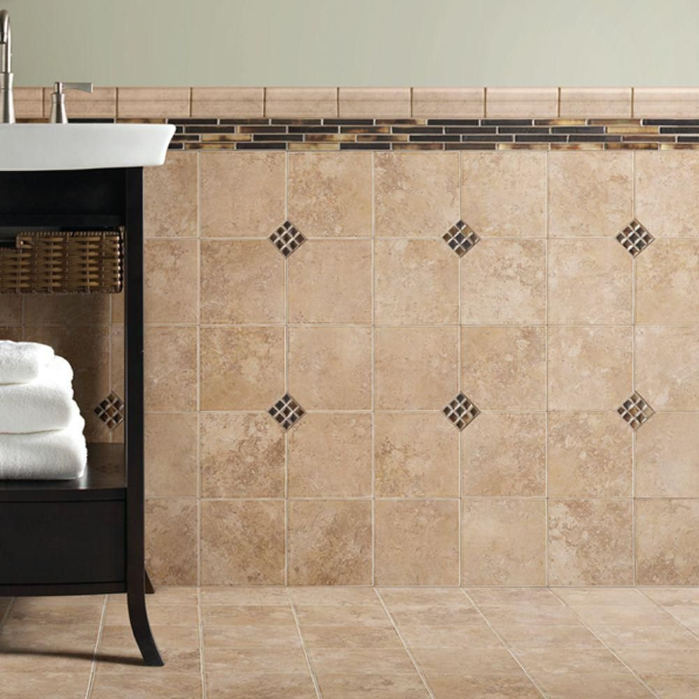 Superior Add A Contemporary Styling And Visual Interest To Your Dwelling With This  Daltile Santa Barbara Pacific Sand Ceramic Bullnose Corner Wall Tile.
