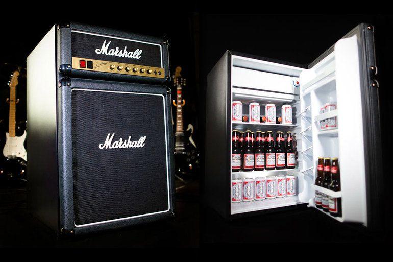 Mini Kühlschrank Heineken : Marshall amp mini fridge! prices starting at $300 art and style