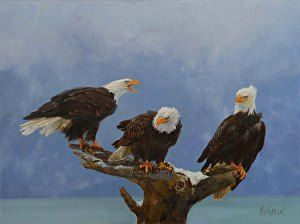 Congress in Session by Michelle Kondos in the FASO Daily Art Show