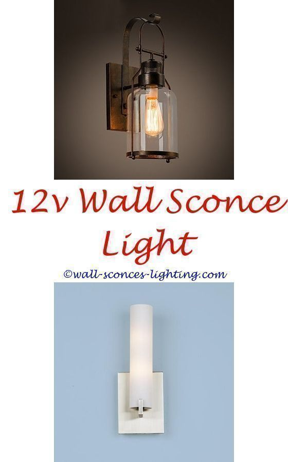 How To Measure And Install Wall Sconce Light Fixture Amber Bedroom Small