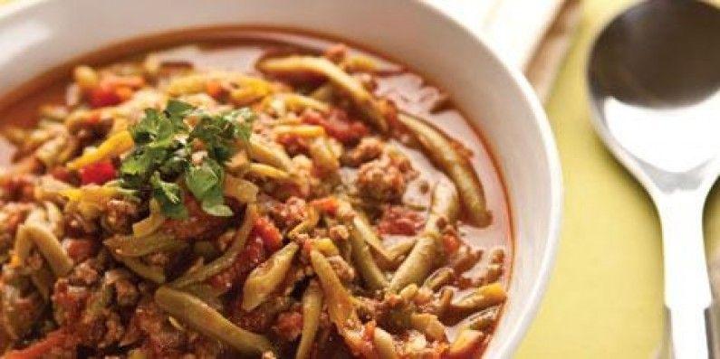 Cucina siriana spezzatino di carne con fagiolini cucina for Cucinare fagiolini