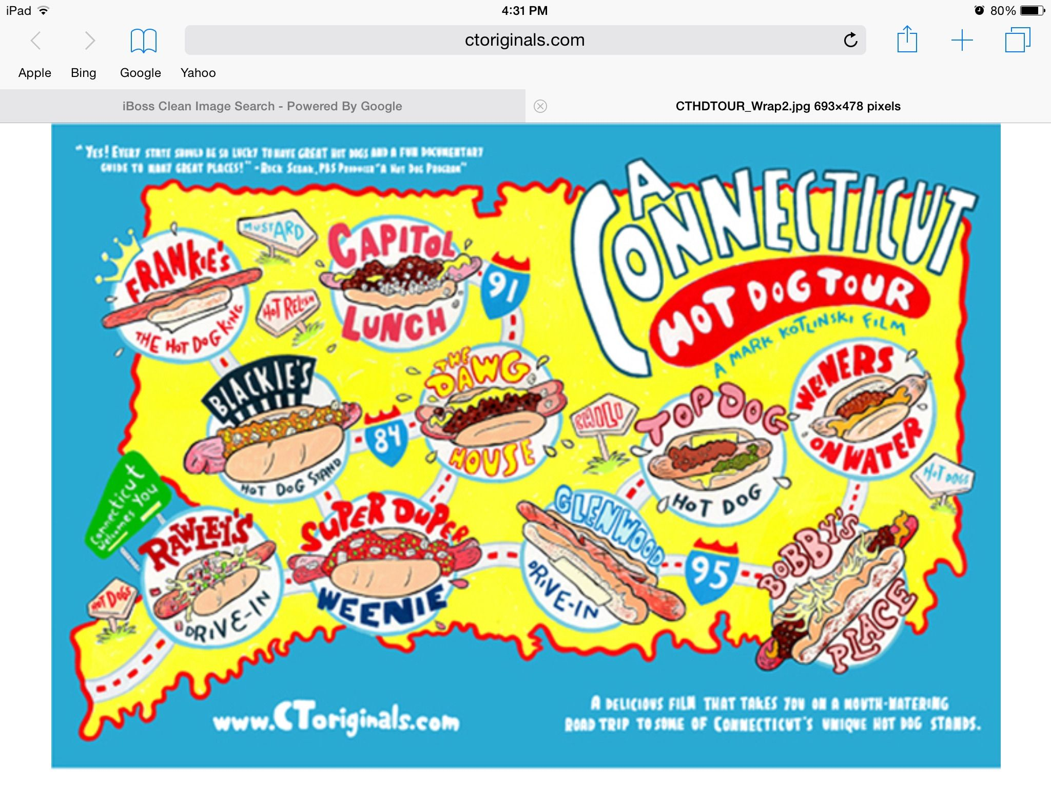 This is just most of the hot dog restaurants in Connecticut!!!!